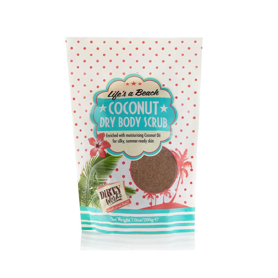 Το Coconut Dry Body Scrub της εταιρείας Dirty Works είναι το μοναδικό peeling που χρειάζεται στο μπάνιο σου!