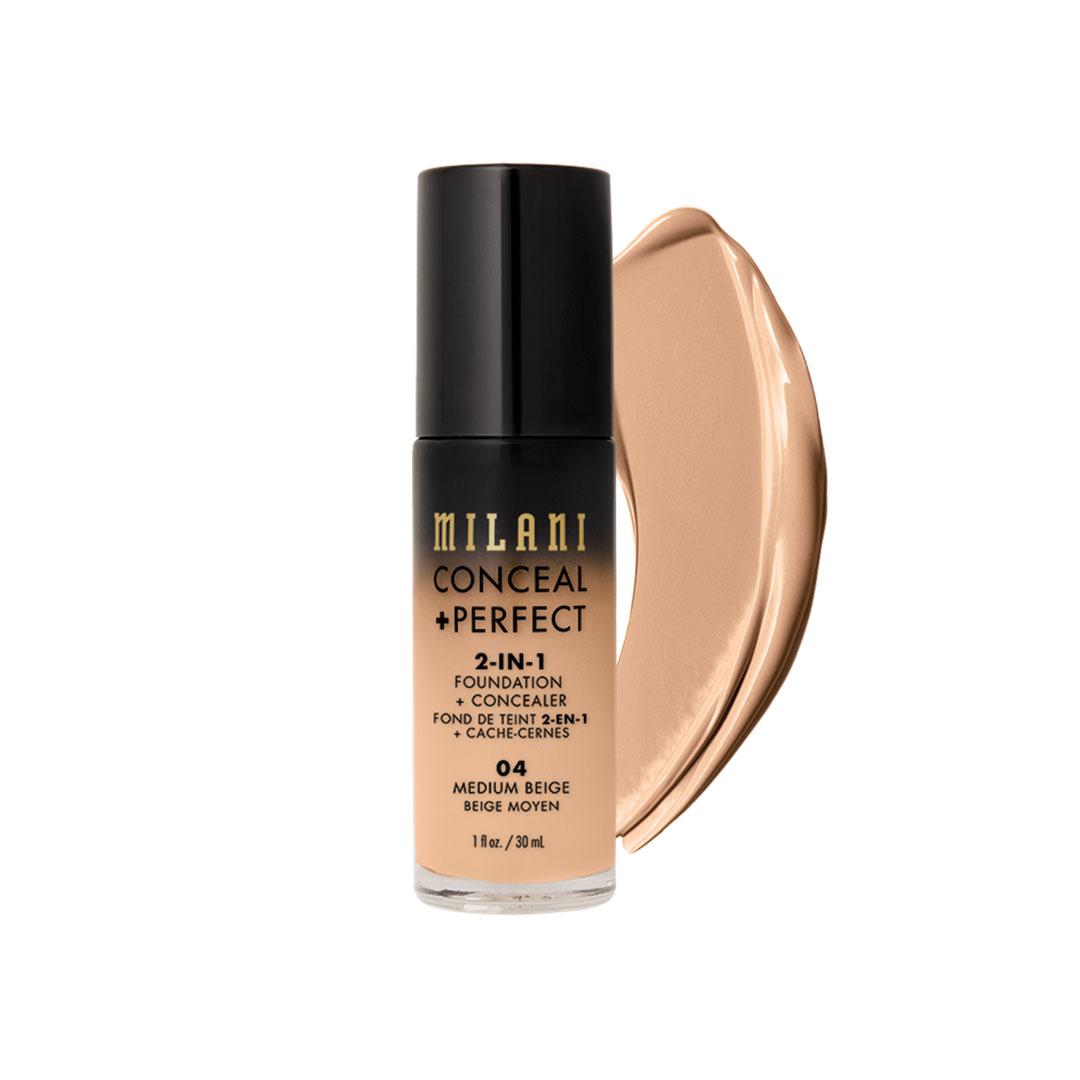 Υγρό makeup από την εταιρεία Milani που μπορεί να χρησιμοποιηθεί και ως concealer!