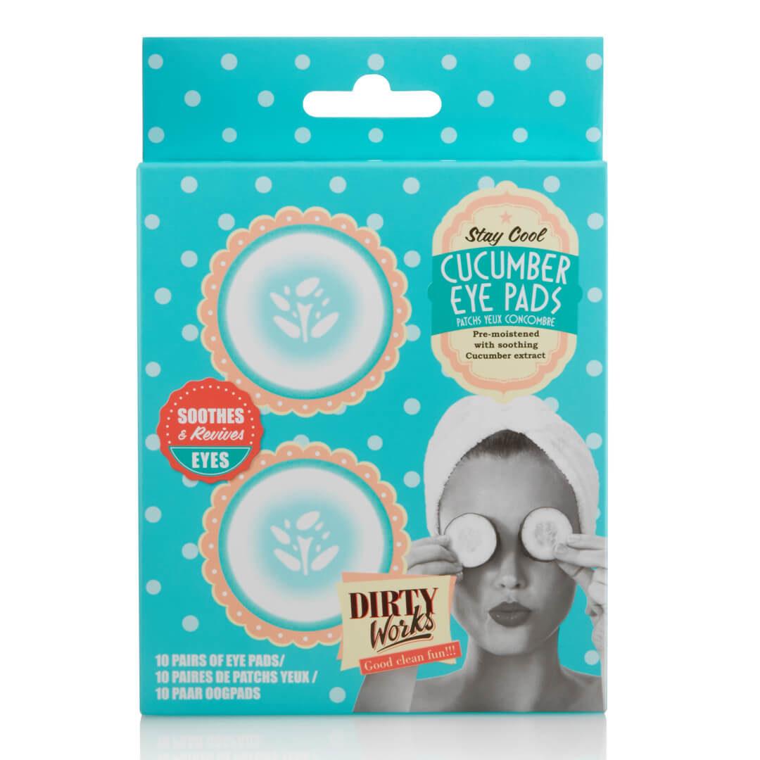 Τα Cucumber Eye Pads της εταιρείας Dirty Works είναι μάσκες για τα κουρασμένα μάτια!