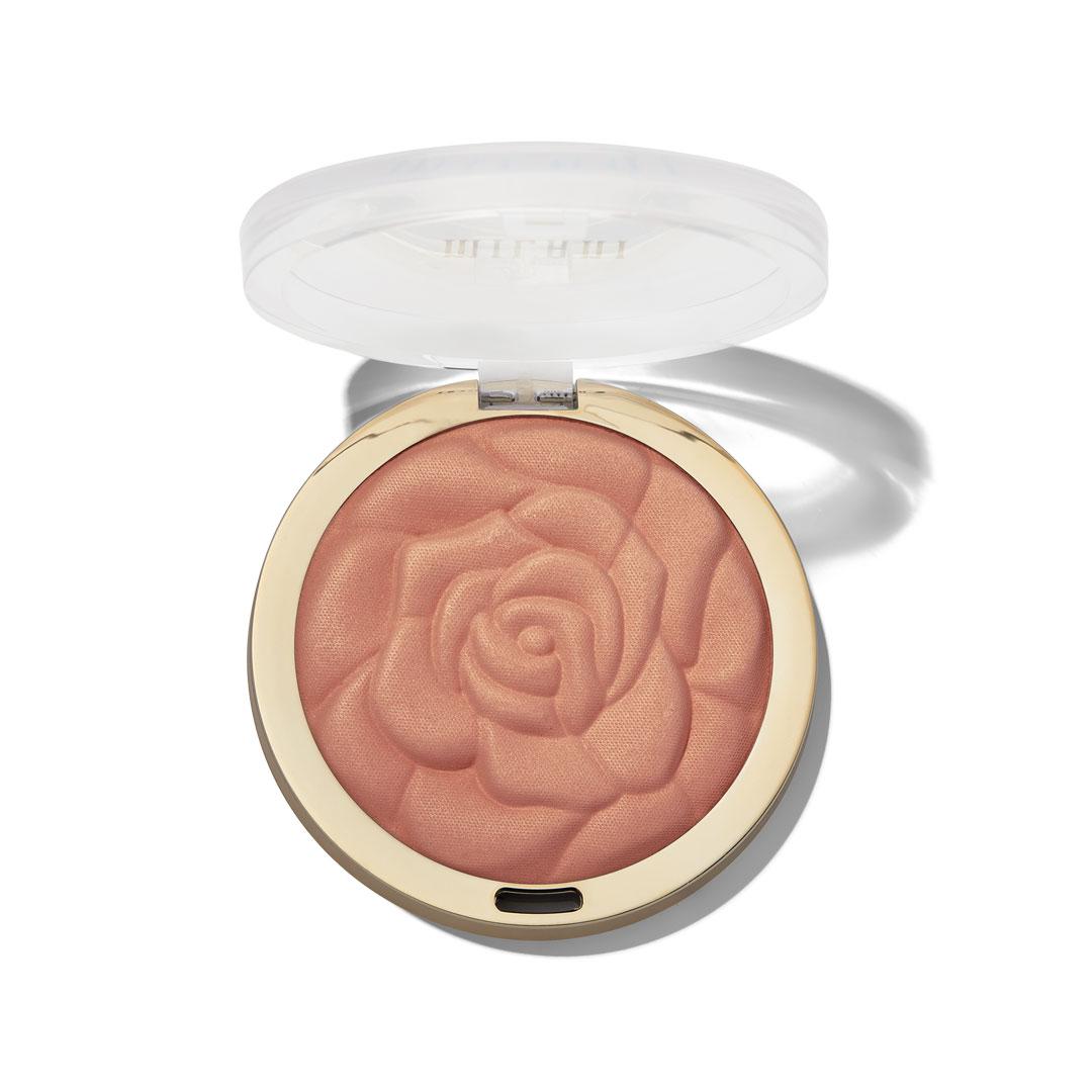 Ρουζ σε μορφή πούδρας από την σειρά Rose powder της εταιρείας Milani, στην απόχρωση blossomtime rose!