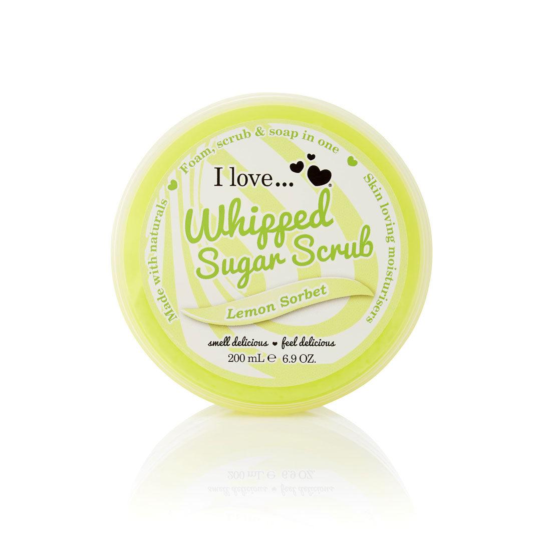 Peeling σώματος με άρωμα σορμπέ λεμονιού από τη εταιρεία i love!