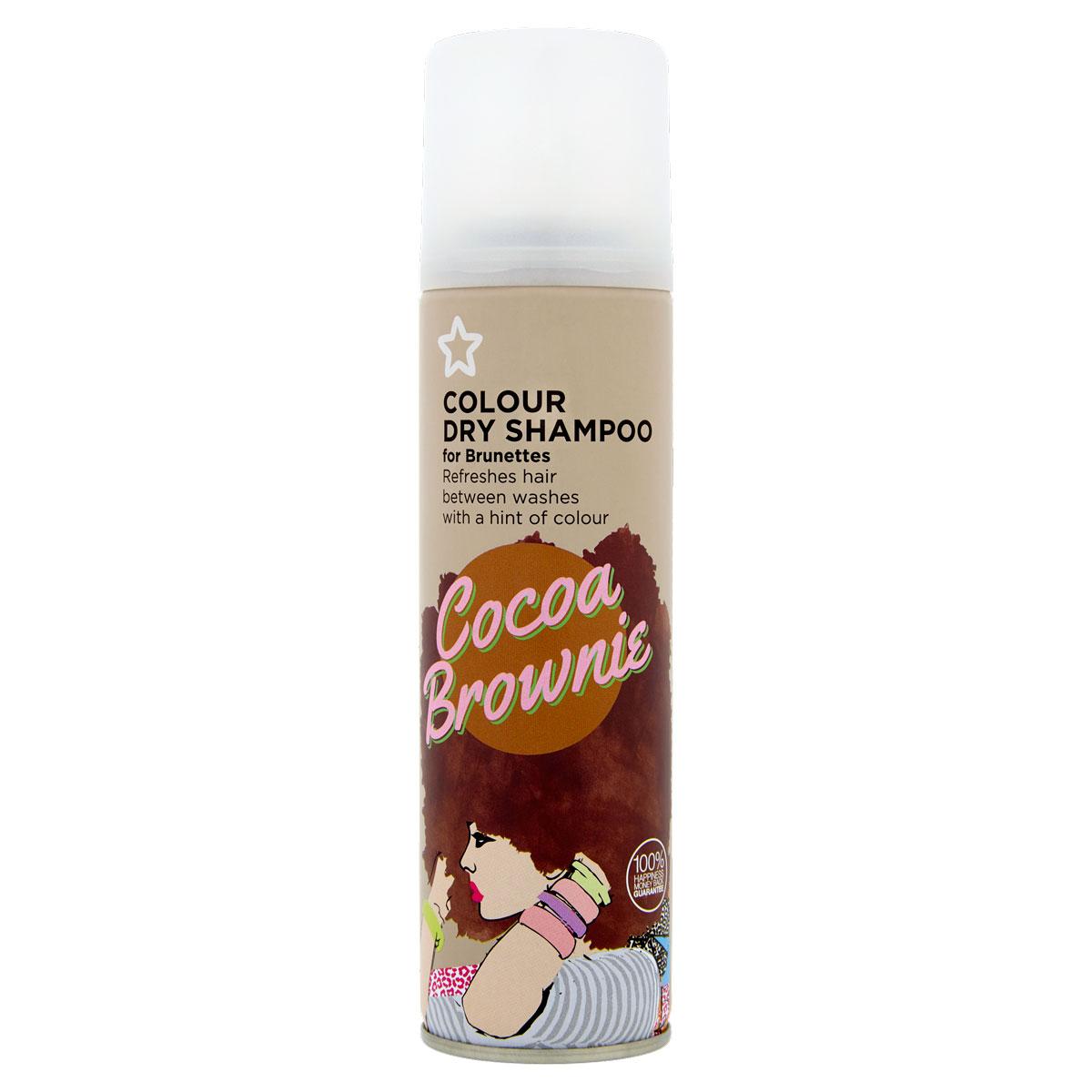 Ξηρό σαμπουάν από την εταιρεία Superdrug για καστανά μαλλιά